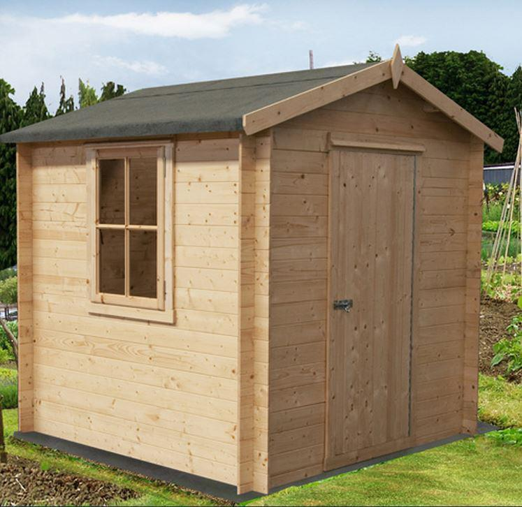 Danbury Log Cabin - Various Sizes Available