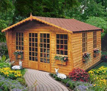 Goodwood Gold Beaulieu (10' x 10') Summerhouse