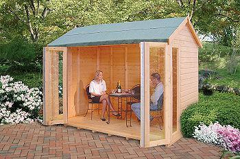 Goodwood Gold Blenheim (10' x 6') Summerhouse