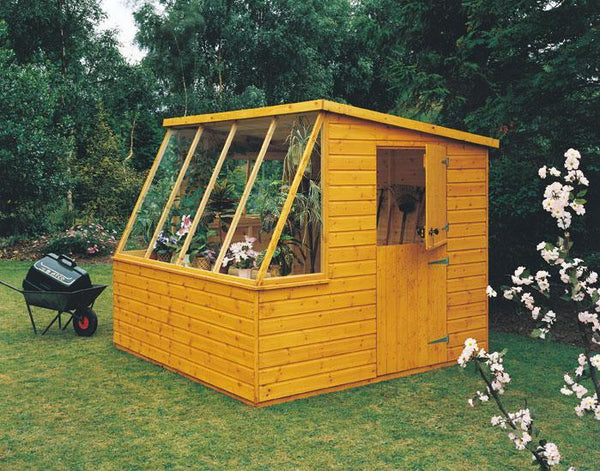 Goodwood Iceni (8' x 6') Professional Tongue and Groove Shed