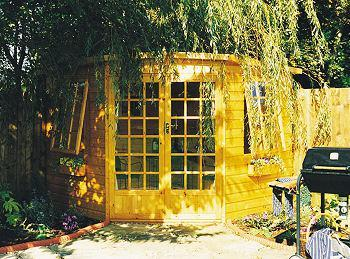 Goodwood Gold Windsor (7' x 7') Summerhouse
