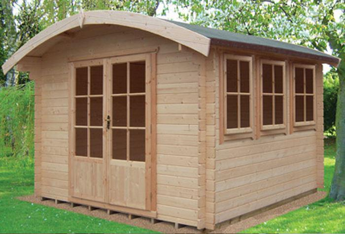 Kilburn Log Cabin in 28mm Logs - Various Sizes Available