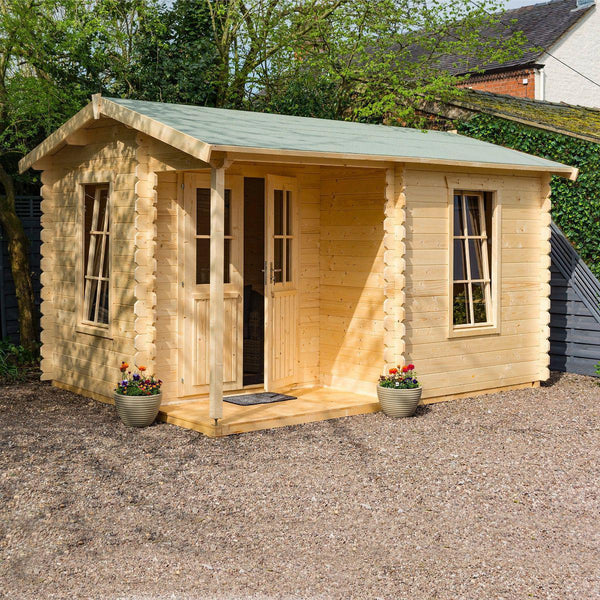 Garden Office Log Cabin
