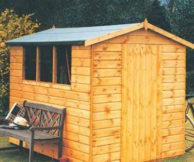 Lewis (12' x 8') Professional Storage Apex Shed