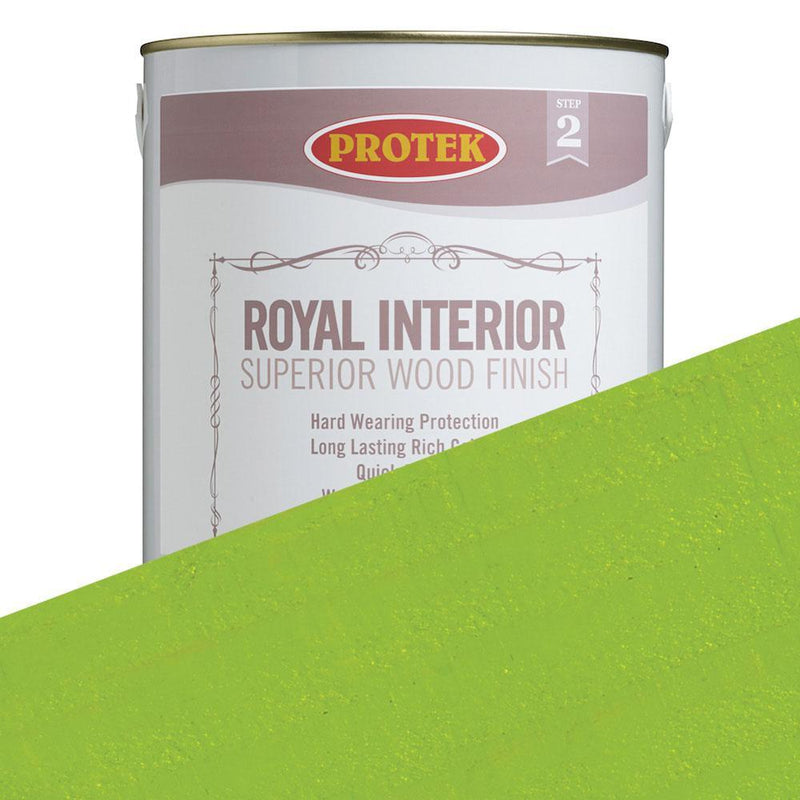 Protek Royal Interior Finish - Lime Green