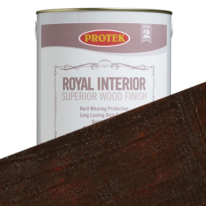 Protek Royal Interior Finish - Mahogany