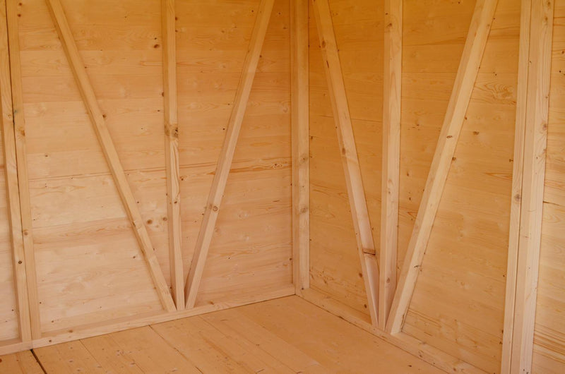 Goodwood Mammoth (10' x 25') Professional Tongue and Groove Apex Shed