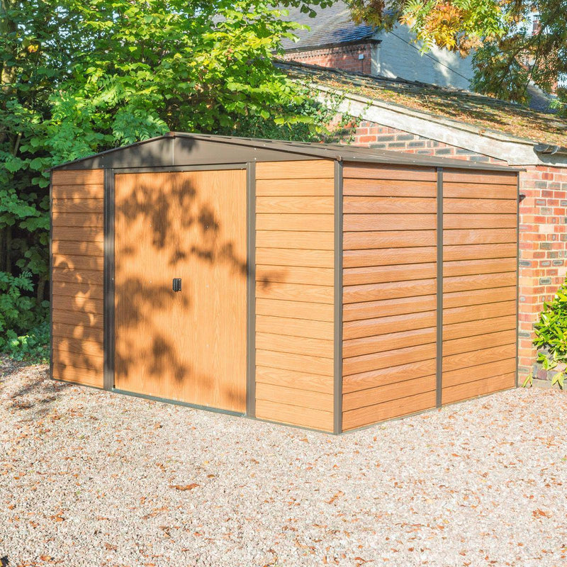 10'x8' Woodvale Metal Shed