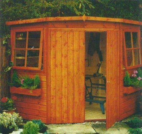 Goodwood Murrow (8' x 8') Professional Tongue and Groove Corner Shed
