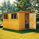 Goodwood Norfolk (10' x 8') Professional Tongue and Groove Pent Shed
