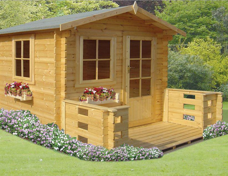 Norwood Log Cabin in 28mm Logs - Various Sizes Available