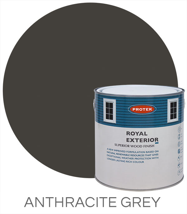 Protek Royal Exterior Finish - Anthracite Grey