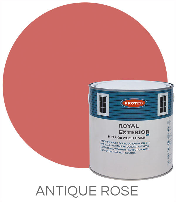 Protek Royal Exterior Finish - Antique Rose