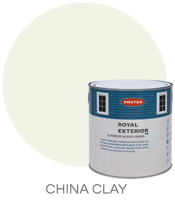 Protek Royal Exterior Finish - China Clay