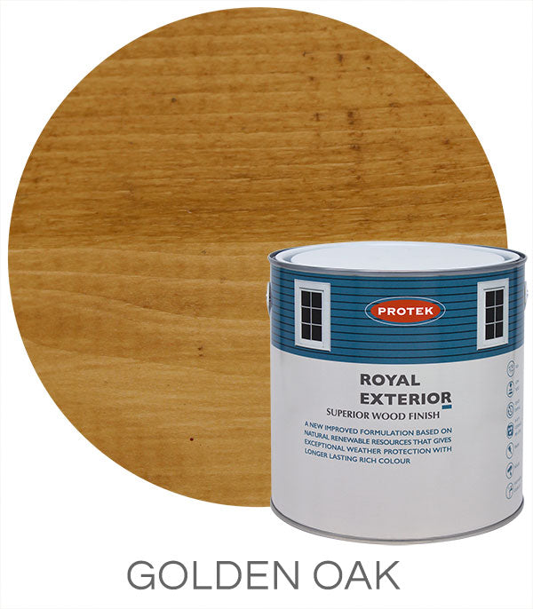 Protek Royal Exterior Finish - Golden Oak