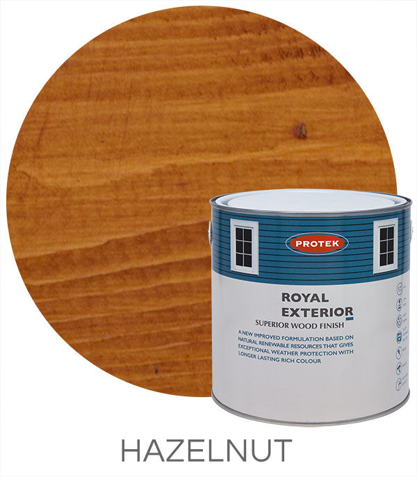 Protek Royal Exterior Finish - Hazelnut