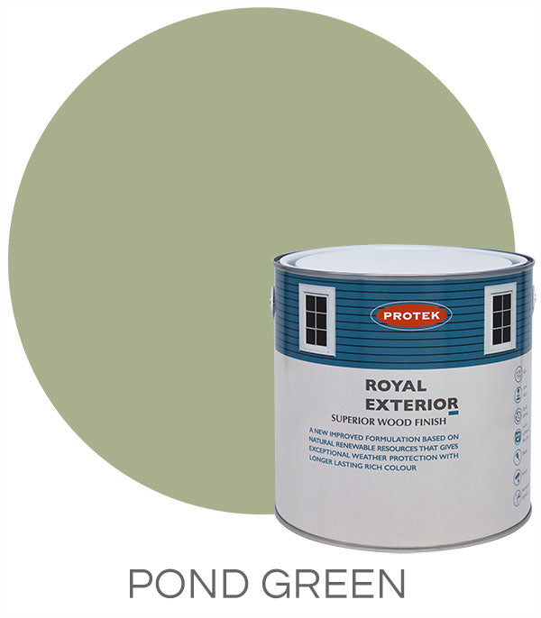 Protek Royal Exterior Finish - Pond Green