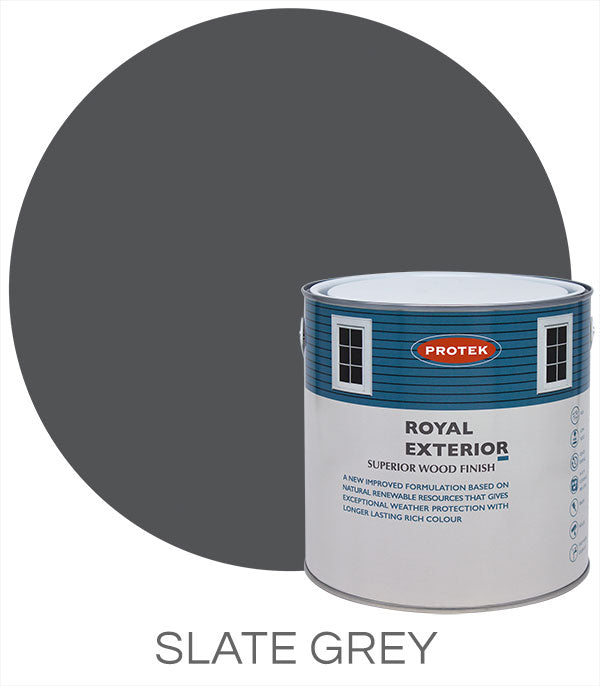 Protek Royal Exterior Finish - Slate Grey