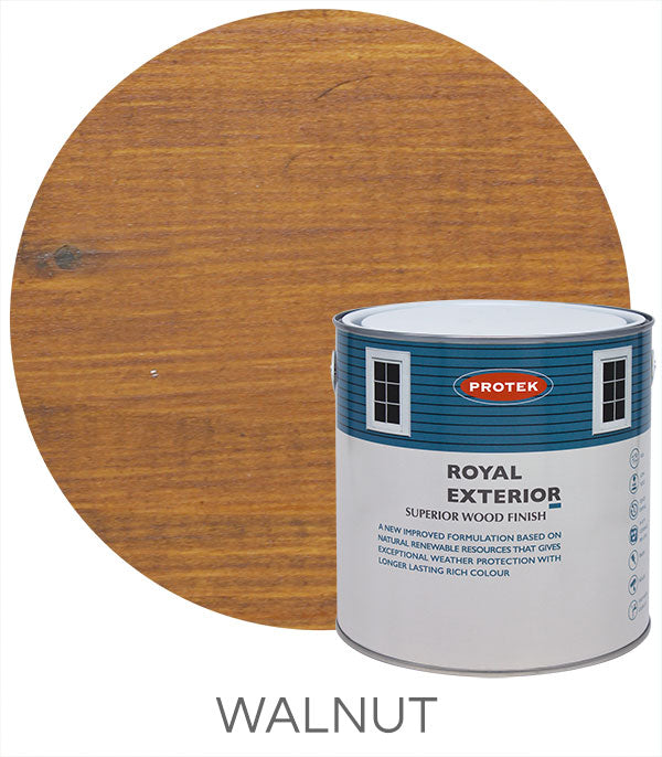 Protek Royal Exterior Finish - Walnut