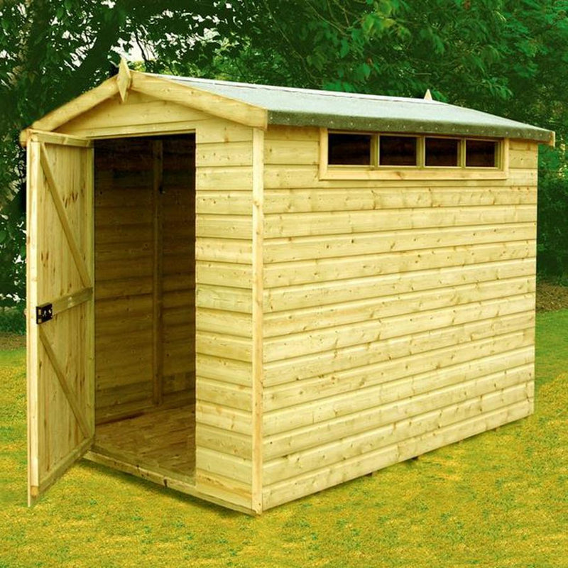Goodwood Security (10' x 8') Professional Tongue and Groove Apex Shed