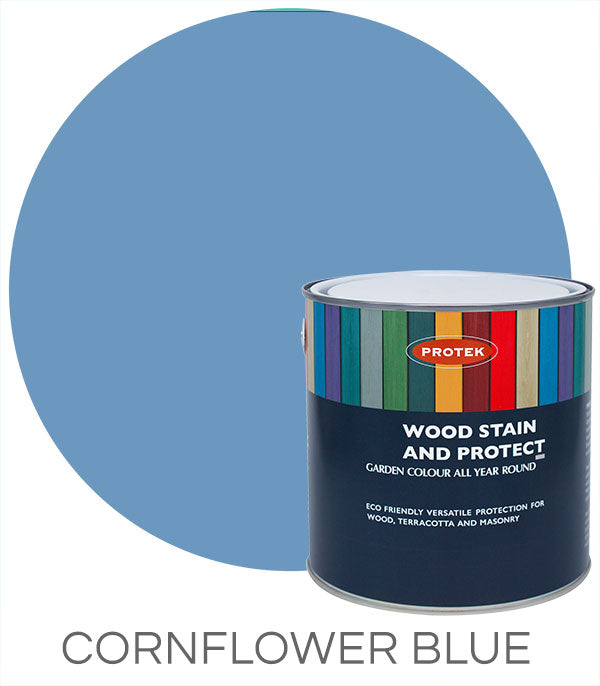 Protek Wood Stain & Protect - Cornflower