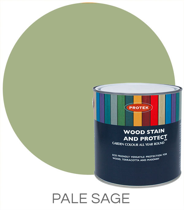 Protek Wood Stain & Protect - Pale Sage