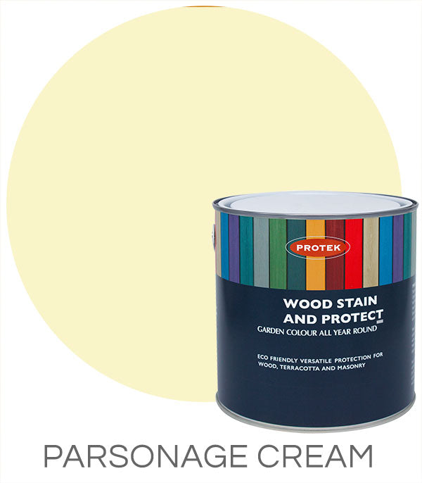 Protek Wood Stain & Protect - Parsonage Cream