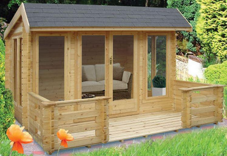 Wykenham Log Cabin - Various Sizes Available