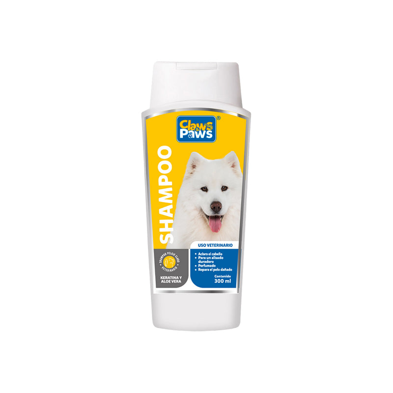 Claws & Paws Shampoo Pelaje Claro x 300 ml