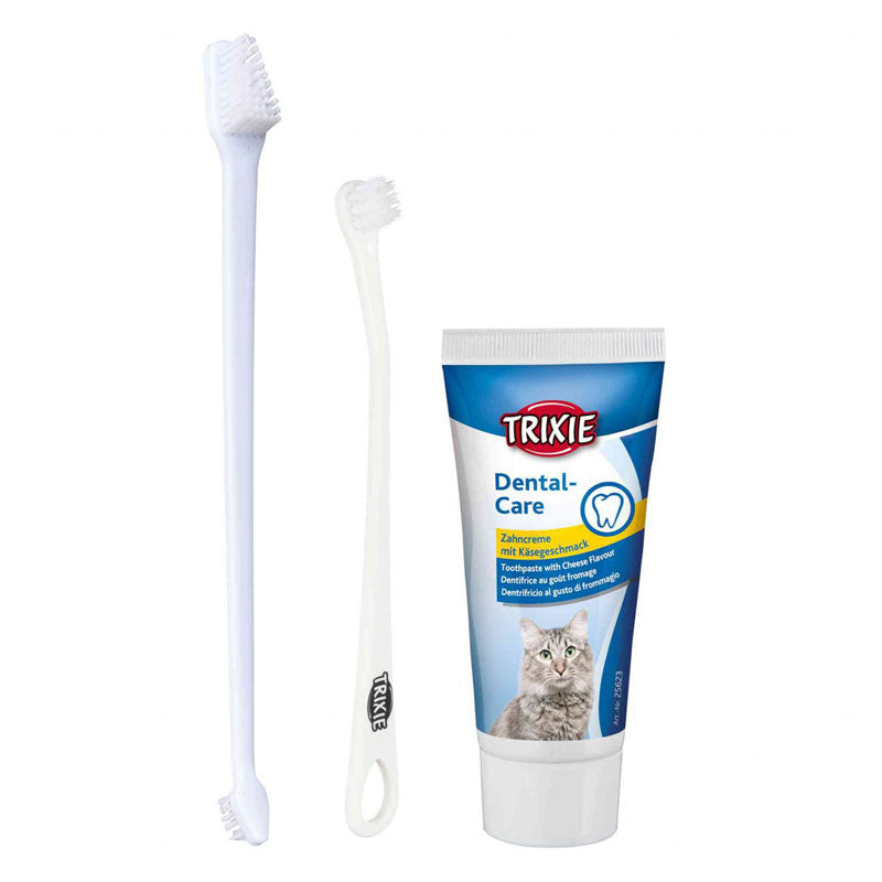 Trixie  Kit de higiene dental para gatos