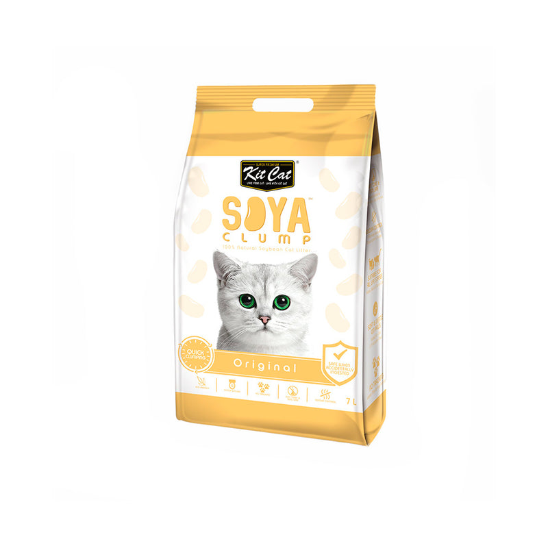 Kit Cat Soya Clump Soybean Litter - Original - 3kg