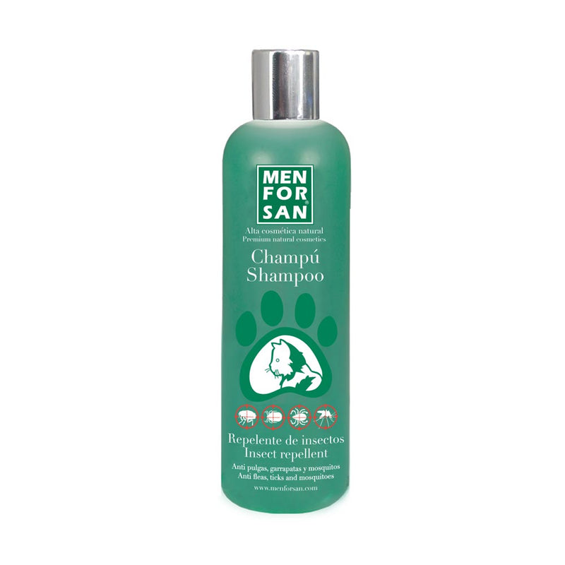 Men For San Shampoo Gato Repelente de insectos con Citronella 300ml