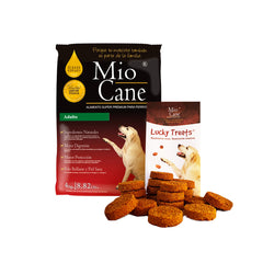Mio Cane Super Premium Adulto 15kg + 01 Lucky Treats x 200g