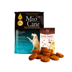 Mio Cane Super Premium Piel Sensible 15kg + 01 Lucky Treats x 200g