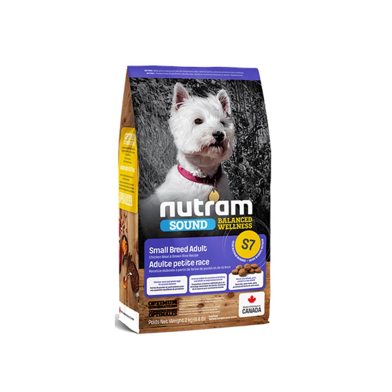 Nutram S7 Sound Small Breed Adult Dog - Adulto - Raza pequeña