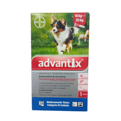 Advantix – Pipeta Antipulgas Perros10-25kg