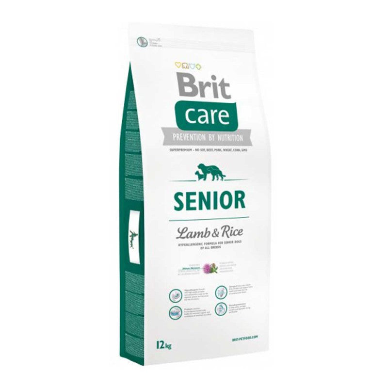 Brit Care Senior Lamb & Rice - Adulto mayor - Cordero y arroz