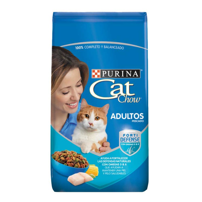 Cat Chow Adultos - Pescado