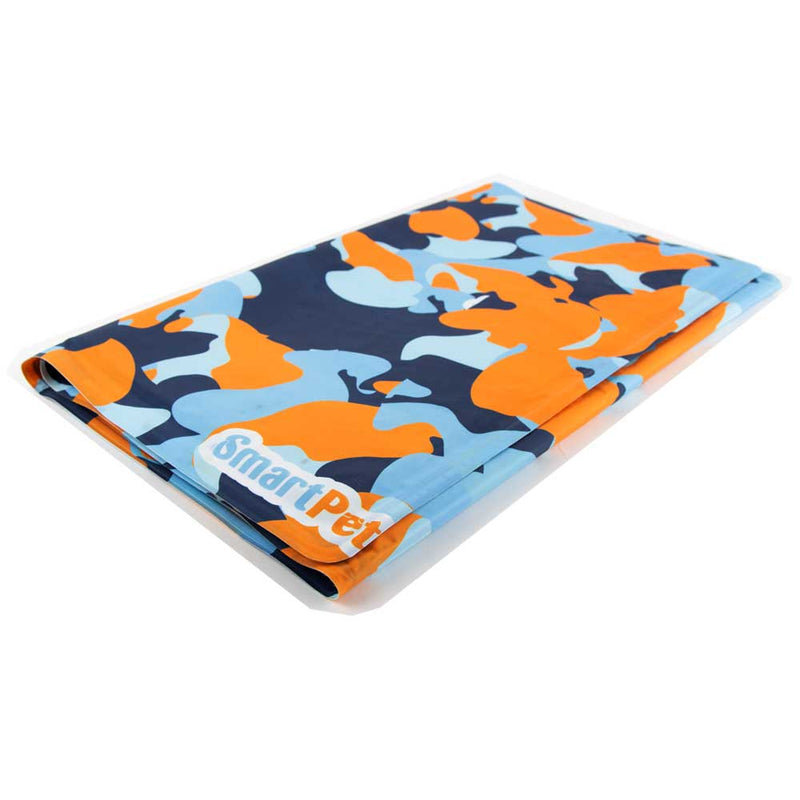SmartPet - Cool Mat Rectangular, Camuflado - Talla Small