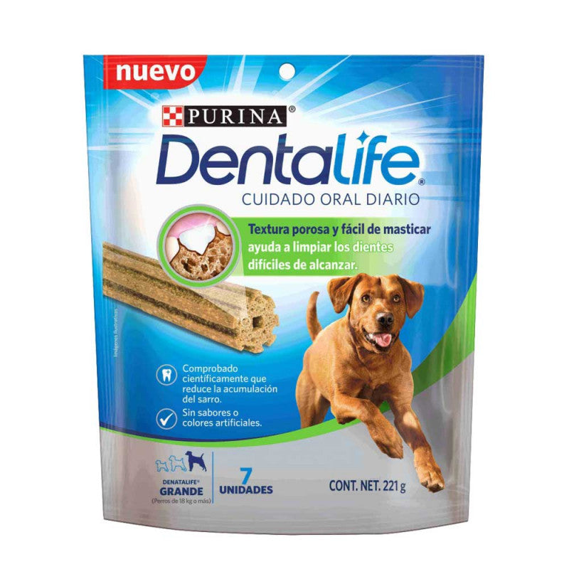 Dentalife Dogs Large Breed 7 x 196g - Cuidado oral raza grande