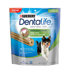 Dentalife Dogs Breed Medium 7 x 119g - Cuidado oral raza mediana