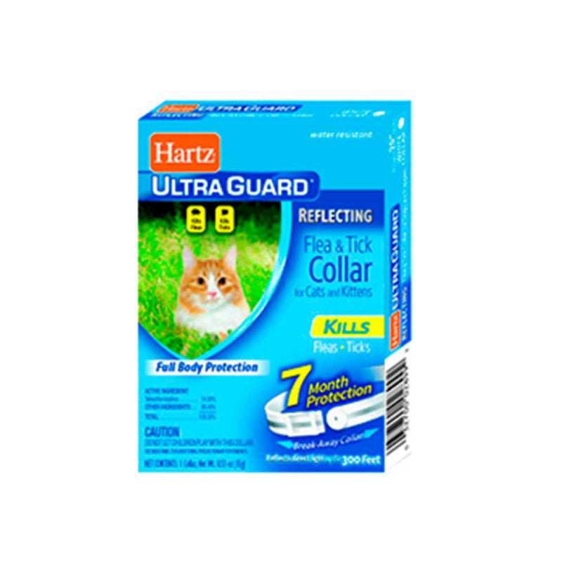 Hartz Ultraguard Collar for Cats and Kittens - Collar Antipulgas Cachorros Felinos
