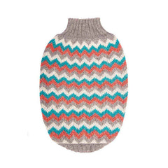 Hot Dogz Sweater Zig Zag L