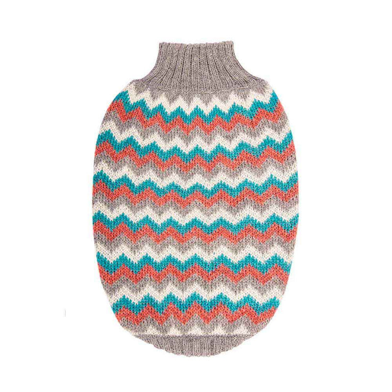 Hot Dogz Sweater Zig Zag  -Talla M