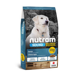 Nutram S10 Sound Senior Dog - Adulto mayor