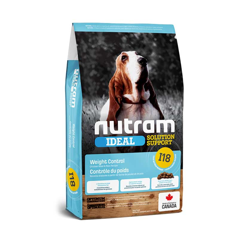 Nutram I18 Ideal Weight Control Dog - Control de peso