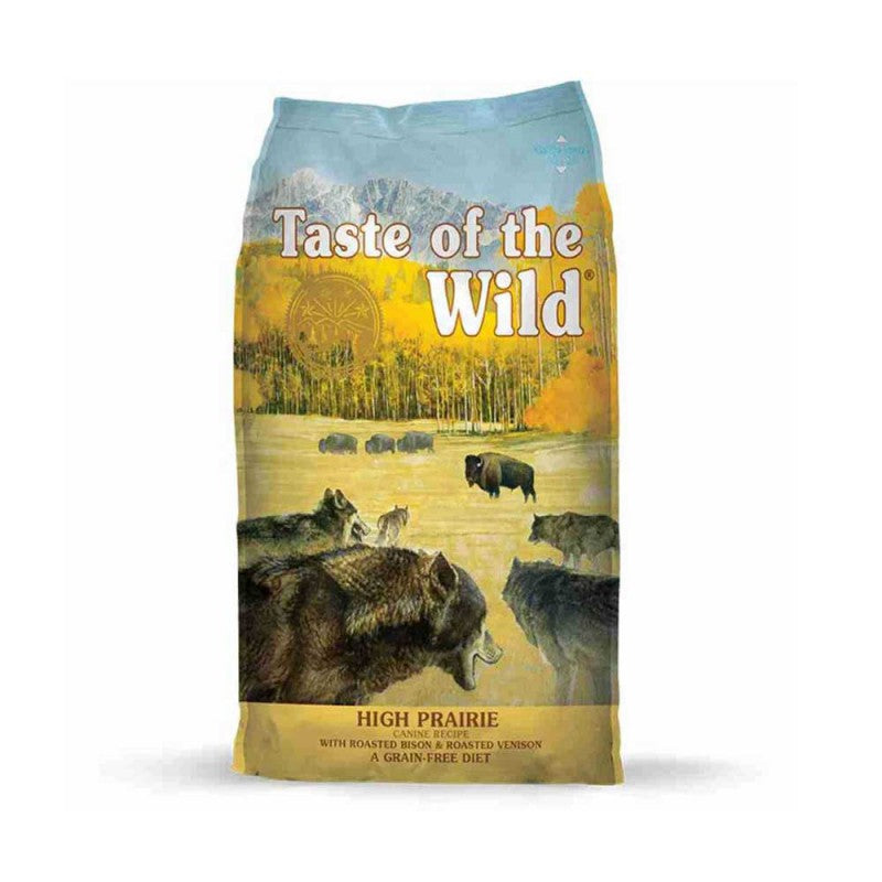 Taste of the Wild Adult-High Prairie Canine - Adulto- Bisonte y venado asado