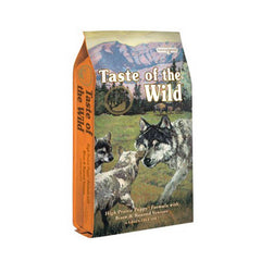 Taste of the Wild Puppy-High Prairie Canine - Cachorro- Bisonte y venado asado