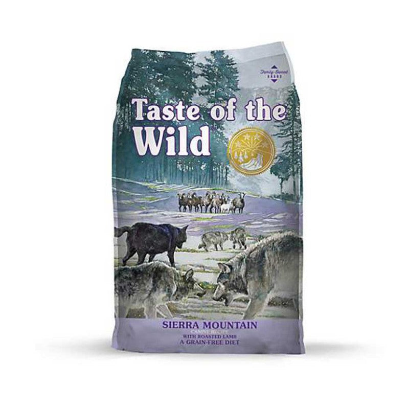 Taste of the Wild Adult Sierra Mountain Canine - Adulto - Cordero asado