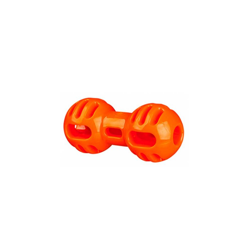 Trixie Soft & Strong dumbell, TPR, Orange